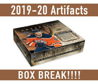 BOX BREAK!19-20 ARTIFACTS BOX BREAK Random Teams-Free Shipping!