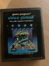 Video Pinball (Atari 2600, 1981) Game Cart Only