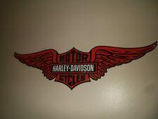 Harley-Davidson porcelain wing sign