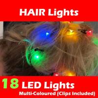 LED Beard Lights Fun Novelty Face Hair Santa Party Xmas MEN Gift FAST SHIPPING