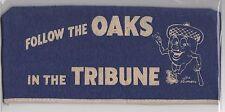 1952 PCL Oakland Oaks Souvenir Felt Cap Hat Dated Mel Ott + Acorn Mascot
