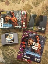 Shadow Man (Nintendo 64, 1999) Complete In Box Tested !!