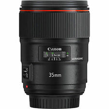 Canon Fixed/Prime f/1.4 Camera Lenses
