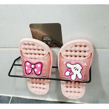 New! Bathroom slippers hanger for wall, door mounted,Shoes rack hanger shelf set