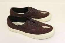 VAULT BY VANS OG AUTHENTIC LX LIMITED 1 OF 250 BURGUNDY STINGRAY SNEAKERS SZ 8