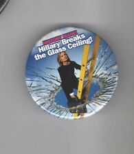 2016 pin HILLARY Clinton breaks the GLASS CEILING ! FEMINISM History is Made !