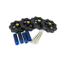 4x Heizbett Spannfeder mit Senkkopfschraube und Rad für CR-10, Ender, 3D-Drucker
