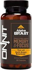Alpha Brain, Onnit, 30 capsule