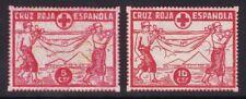 ESPAÑA - GUERRA CIVIL - CRUZ ROJA ESPAÑOLA - 5 CTS - 10 CTS