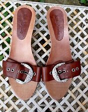 Russell & Bromley, Ladies Sandals,Heels,Size UK 7. Leather, Diamante WORN ONCE.
