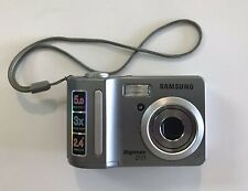 Samsung Digimax D53 Digital Camera;  Silver; Tested And Works Great; 5 Megapi