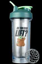 Blender Bottle x Mandalorian Do you even Lift 28 oz. Shaker Mixer Cup New Loop