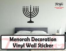 Menorah Vinyl Wall Sticker
