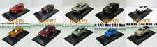 Lot 10 Voitures 1/43 SALVAT : FIAT Uno Regatta Brio 1500 600 127 128 125 Duna