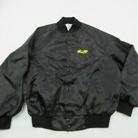 Vintage 1992 Viper Jacket Black Nylon Button West Ark Made in USA Racing Car