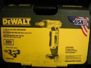DeWALT DCE400D2 20-Volt MAX 1-Inch Pex Cordless Rotating Head Expander Tool Kit