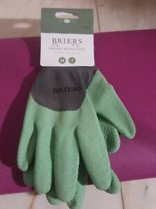 Briers Thorn Resistant Gardening Gloves - Green Medium