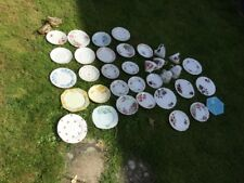 vintage mis matched odd cups saucers plates, ideal for tea rooms, approx 32 piec