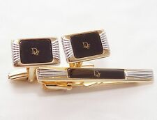 CHRISTIAN DIOR tie clip and cufflinks (Germany)