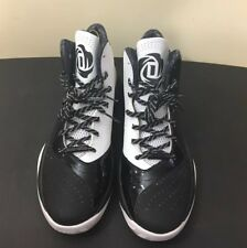 promo code fe061 0b36f ADIDAS D Rose 773 III Basketball Sneakers - Black  White S85254 Size 13