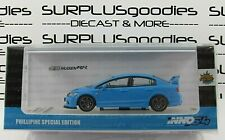 INNO64 1:64 2019 Philippine Exclusive Blue HONDA CIVIC FD2 Mugen RR MOD Version