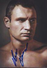 VITALI KLITSCHKO 13x18 signiert IN PERSON Autogramm signed RAR
