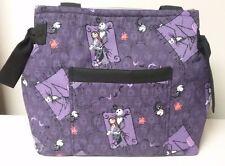 Nightmare before Christmas JACK handmade Purse Totebag Diaper bag purple & black