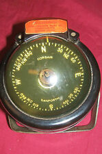 Ships Compass Corsair Danforth Boats Boating Yachting Sailing Nautical Gauge 4""