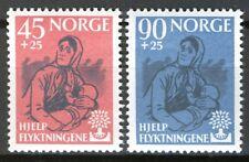 Norway 1960, World Refugee Year set MNH Sc B64-65