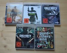 Ps3-Call of Duty: Modern Warfare 2 + 3 + Ghosts + BLACK OPS + GTA IV
