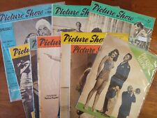 Vintage Picture Show & Film Pictorial Lot of 10 UK 1946- 1957