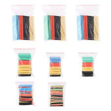 328 Pcs 5 Colors 8 Sizes Assorted 2:1 Heat Shrink Tubing Wrap Sleeve Kit