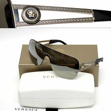 $465 GIANNI VERSACE Men's GOLD MEDUSA SUNGLASSES w/ Certificate