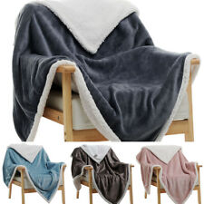 Lamb wool blanket office nap winter blanket quilt thick cover leg single