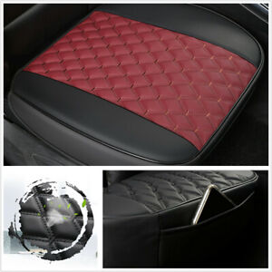 Car Front Seat Cover Mat All-inclusive PU Leather 53x52cm Comfortable Anti Slip