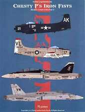 Flying Leathernecks Decals 1/32 CHESTY P'S IRON FISTS Marine Attack Squadrons