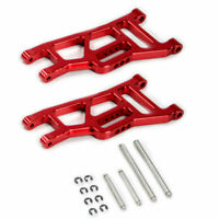 Traxxas Rustler 1:10 Alloy Front Lower Arm, Red by Atomik RC - Replaces TRX 3631