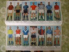 Tempo 41/1966 14 figurine Calciatori Compionato Serie A B