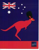 AD209) Australia 2010 London Festival of Stamps M/S Stamp Pack MUH