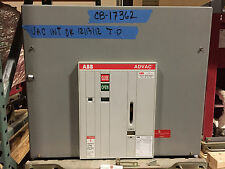 ABB Advac 1200 Amp Circuit Breaker 15 KV, 125 VDC close trip, 31.5KA,