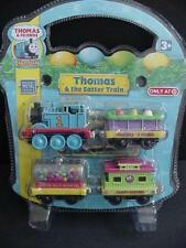 NEW THOMAS Take Along Easter Train 4pc Die Cast Metal Train Cars n Play Engine