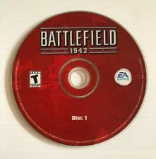 Battlefield 1942 PC CD-ROM 2002 WWII Electronic Arts (EA) 2-DISC Game