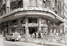 Paris Avenue Champs Elysées Boutique vêtements - Repro photo ancienne an. 1960
