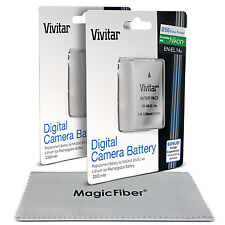 2x Vivitar EN-EL14a Battery for Nikon D3400 D3300 D3200 D5500 D5300 D7200 D7100