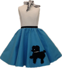 Toddler Poodle Skirt with Scarf