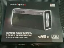 CREATIVE SOUND BLASTER iROAR GO IPX6 PORTABLE BLUETOOTH/NFC SPEAKERS *NEW*