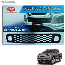 Fit Isuzu D-Max Dmax Hi-Lander 4x4 Black Net Lower Grille Grill Cover 2016 2017