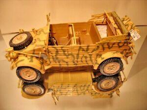 Pkw.K1 Kubelwagen Type 82  1/16 scale FULL INTERIOR  (lasercut set + 1100 parts)