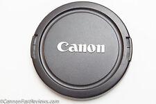 GENUINE ORIGINAL NEAR MINT CANON E-67MM EF EF-S EOS LENS CAP 67MM 67 SNAP ON