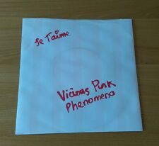 "Vicious Pink Phenomena Je T'aime 1983 UK 7"" Pic Sleeve WARE1 Synth Pop Soft Cell"